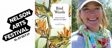 Elisabeth Easther - Bird Words (Nelson Arts Festival)