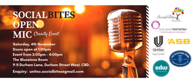 SocialBites Open Mic Charity Event