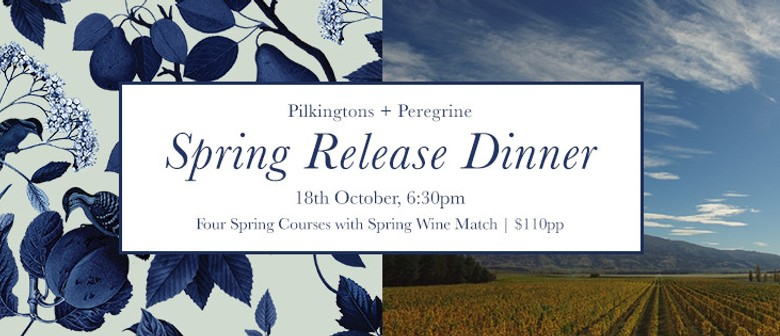 Pilkingtons and Peregrine Collab - Spring Release Dinner