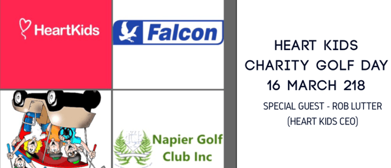 Heart Kids Charity Golf Day - Special Guest: Rob Lutter, CEO