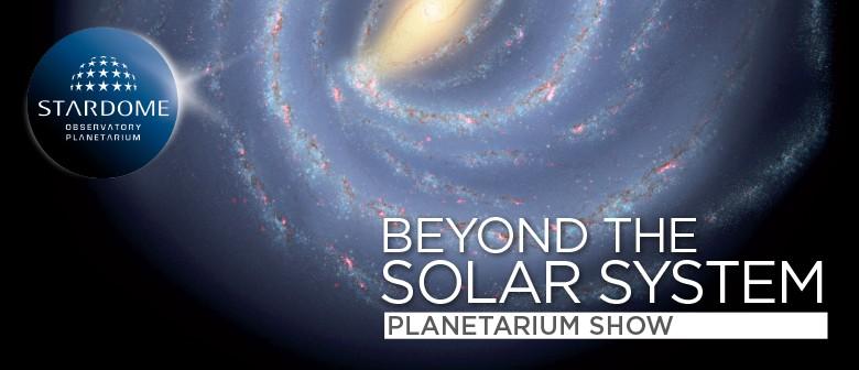 Beyond the Solar System
