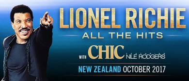 Lionel Richie All the Hits With Chic Featuring Nile Rodgers