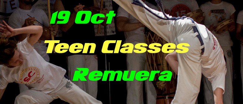 Teenagers Beginner Capoeira Classes