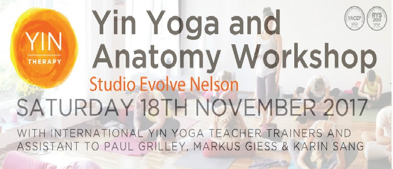 Yin Yoga & Anatomy Workshop With Markus Giess & Karin Sang - Nelson ...