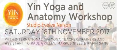 Yin Yoga & Anatomy Workshop With Markus Giess & Karin Sang