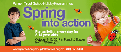 Wheels Party Day - Parnell Trust Holiday Programme