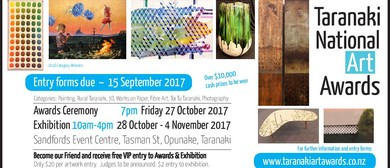 Taranaki National Art Awards