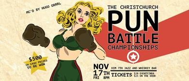 The Christchurch Pun Battle Championships