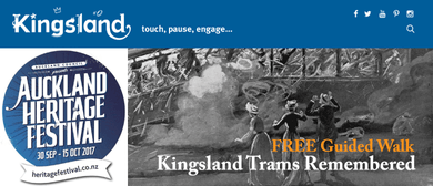 Auckland Heritage Festival - Kingsland Trams Remembered
