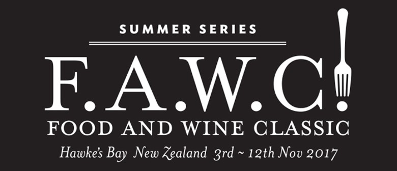 F.A.W.C! Launch Party with Hawke's Bay Wine Makers
