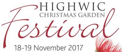 Highwic Christmas Garden Festival