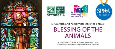The SPCA Blessing of the Animals