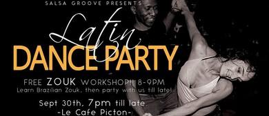 Latin Dance Party & Zouk Workshop