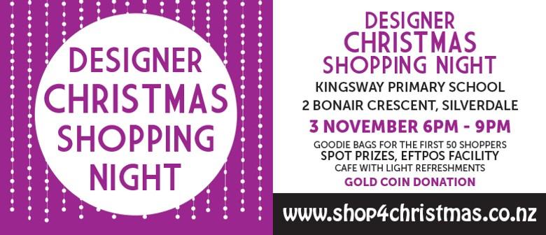 Designer Christmas Shopping Night