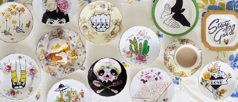 Saturday Gallery Club #32: Up-cycled Ceramics