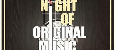 A Night of Original Music