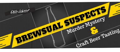 Brewsual Suspects - Murder Mystery and Craft Beer Tasting