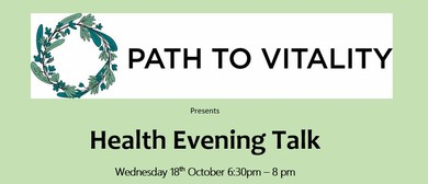 Health Evening Talk