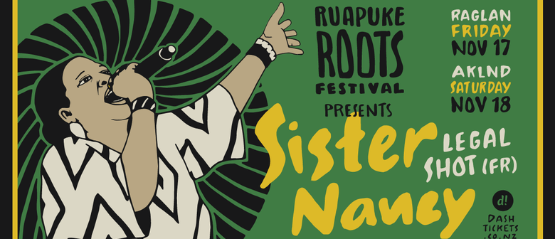 Sister Nancy - Ruapuke Roots Festival Warm Up