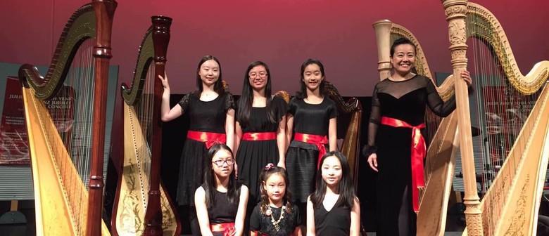 Dante Concert: Yi Jin's Harp Studio and Te Anahera NZ