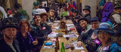 2018 Steampunk League of Victorian Imagineers Mess Dinner