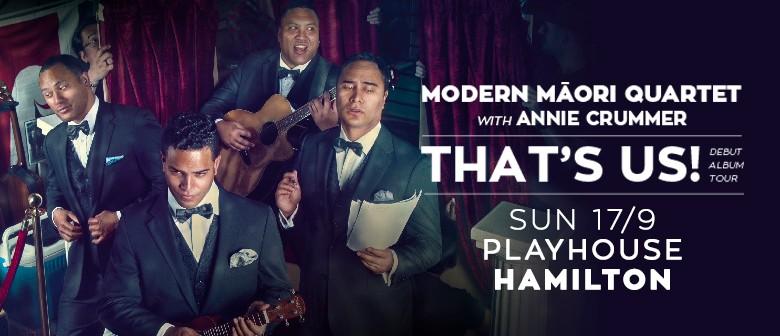 Modern Maori Quartet w Annie Crummer