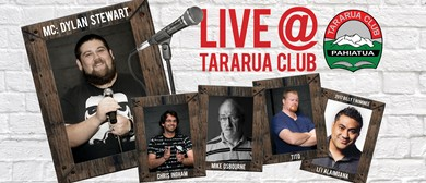 The Comedy Hub: Live at Tararua Club