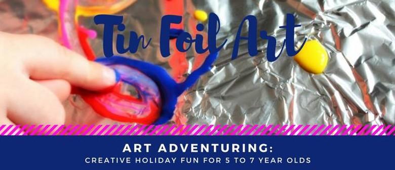 Tin Foil Art - Creative Holiday Fun