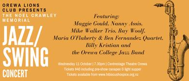 The Noel Crawley Memorial Jazz/Swing Concert