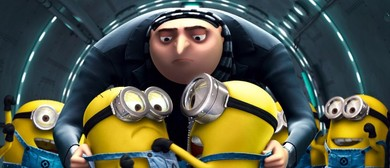 Despicable Me Outdoor Drive-In Movie at Trentham