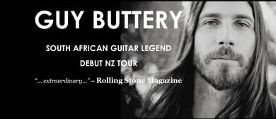 Guy Buttery Debut NZ Tour