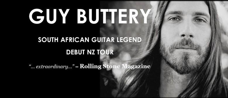 Guy Buttery Debut NZ Tour