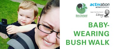 Babywearing Bush Walk