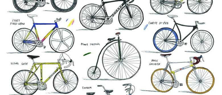 David Sparshott - Bicycle Prints