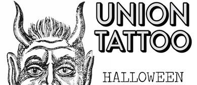 Union Tattoo Halloween Flash Day