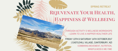 Rejuvenate Your Health, Fitness and Wellbeing Retreat
