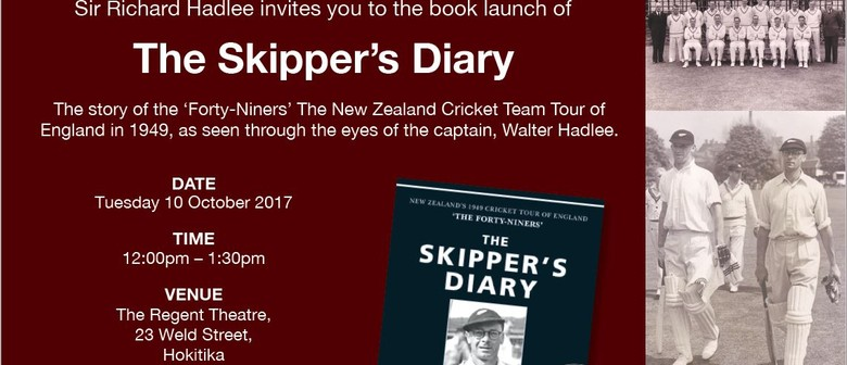 The Skipper's Diary Book Launch - Richard  Hadlee
