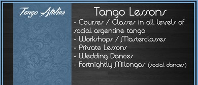 Tango Class/Lesson (Beginners Welcome)