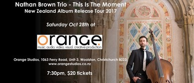Nathan Brown Trio This Is The Moment - Album Release Show