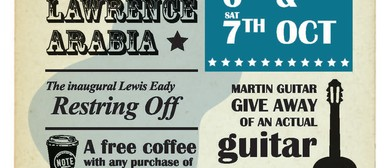 The Lewis Eady Guitarnival 2017 feat. Lawrence Arabia