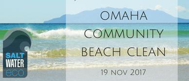 Omaha Community Beach Clean