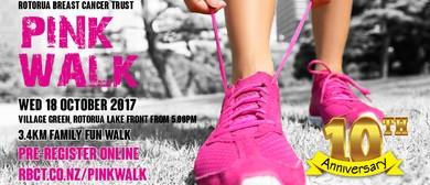 Rotorua Pink Walk 10th Anniversary