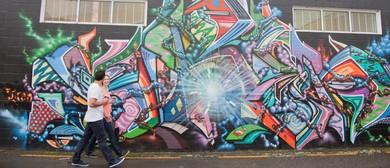 2017 Graffiato: Taupo Street Art Festival