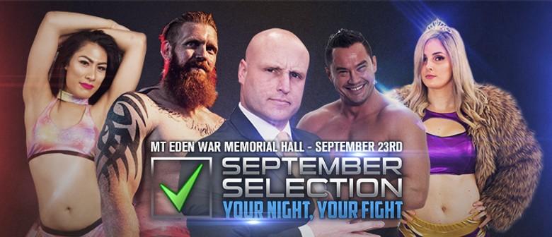 Impact Pro Wrestling: September Selection: Election Night