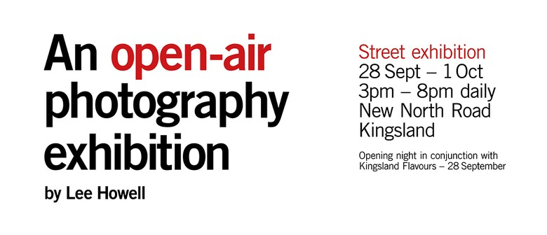 Eden Park Our Neighbourhood Open Air Photography Exhibition