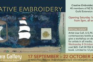 Creative Embroidery - ANZEG Extension Group Exhibition