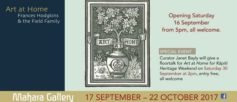 Art at Home - Floortalk with Curator Janet Bayly