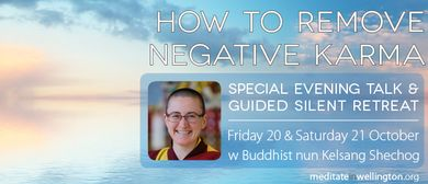 Special Evening Talk - How to Remove Negative Karma