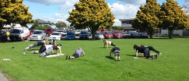 Outdoor Fitness Class With Jane Miskell