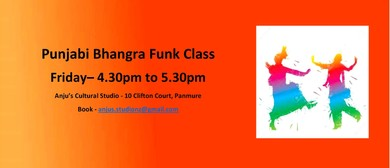 Punjabi Bhangra Funk Dance Class